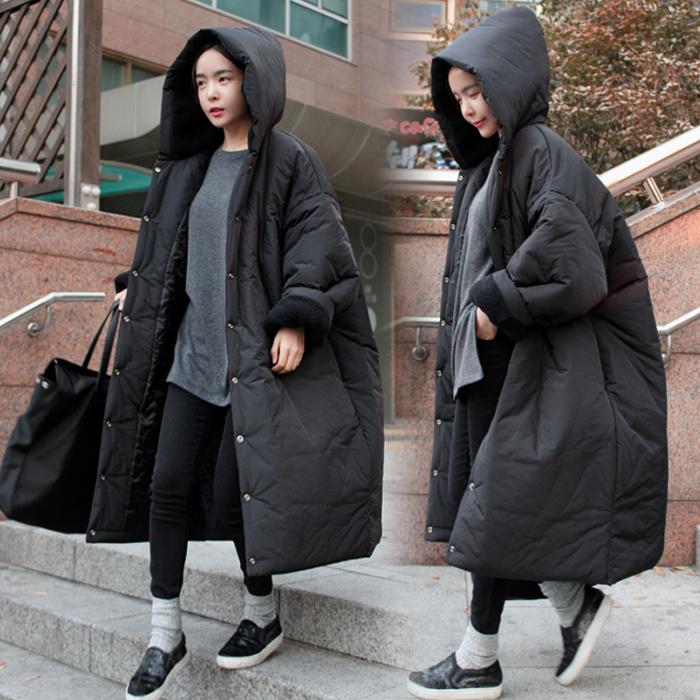 超厚韩国棉服