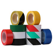 3J warning tape yellow black safety ground label fire warning isolation line PVC floor zebra line tape