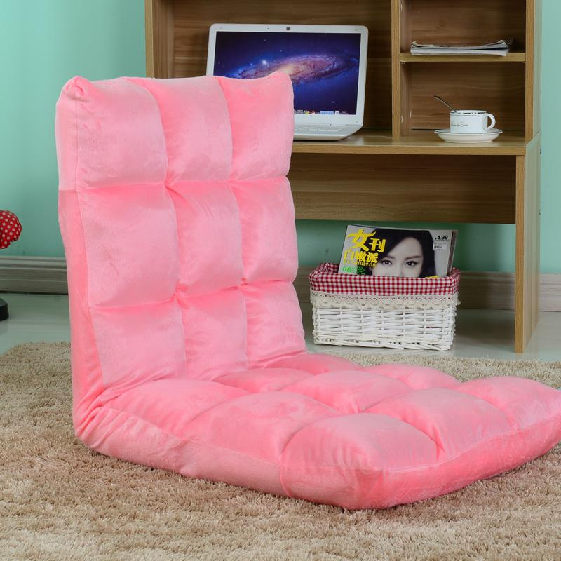 懒人沙发榻榻米可折叠单人椅床上靠背椅宿舍卧室电脑椅地板沙发