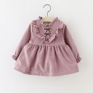 宝宝秋装裙女1-2岁