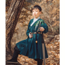 Tianqingdu - Originally Traditional Chinese Dresses Back to the Source Children's Dresses Draw Sa Boys and Children's Non-antique Dresses Children's Paste