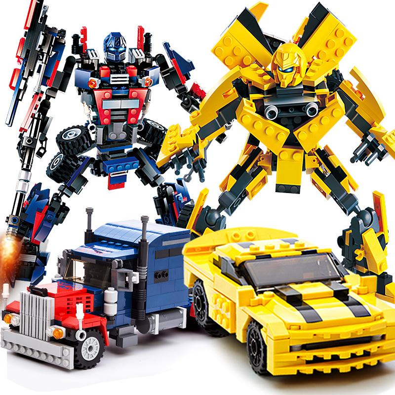 古迪 积木拼装玩具变形机器人 6-10岁3元优惠券