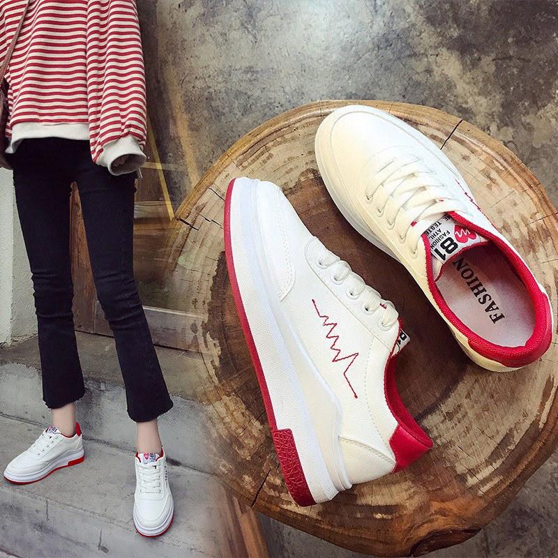 2018秋季新款小白女鞋学生韩版白鞋春季ins超火街拍丑鞋百搭板鞋