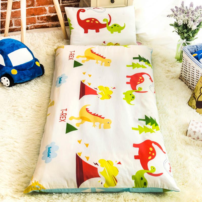 幼儿园被子三件套纯棉儿童被褥全棉被套宝宝午睡婴儿床六件套含芯