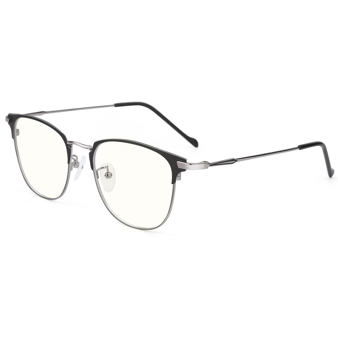 近视眼镜男潮配有度数变色小眼睛可配抗蓝光防辐射平光大圆镜框女