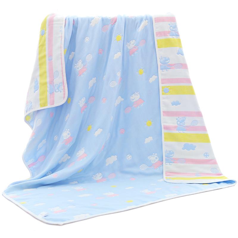 婴儿纯棉吸水纱布浴巾超柔宝宝春夏洗澡新生儿童幼儿园盖毯毛巾被