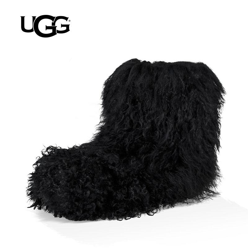 UGG冬季新款女士雪地靴经典新奇系列迷你短靴 1019138
