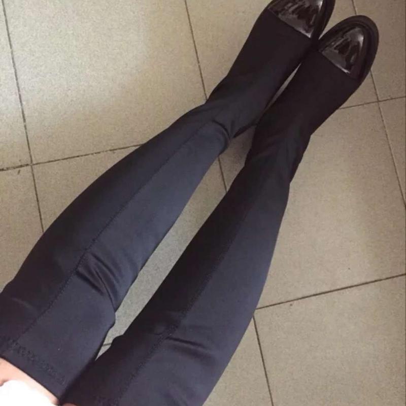 韩版弹力靴过膝靴长筒靴