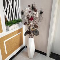 酒柜軟裝飾品花插客廳擺件玄關電視柜現代簡約家居創意擺設工藝品