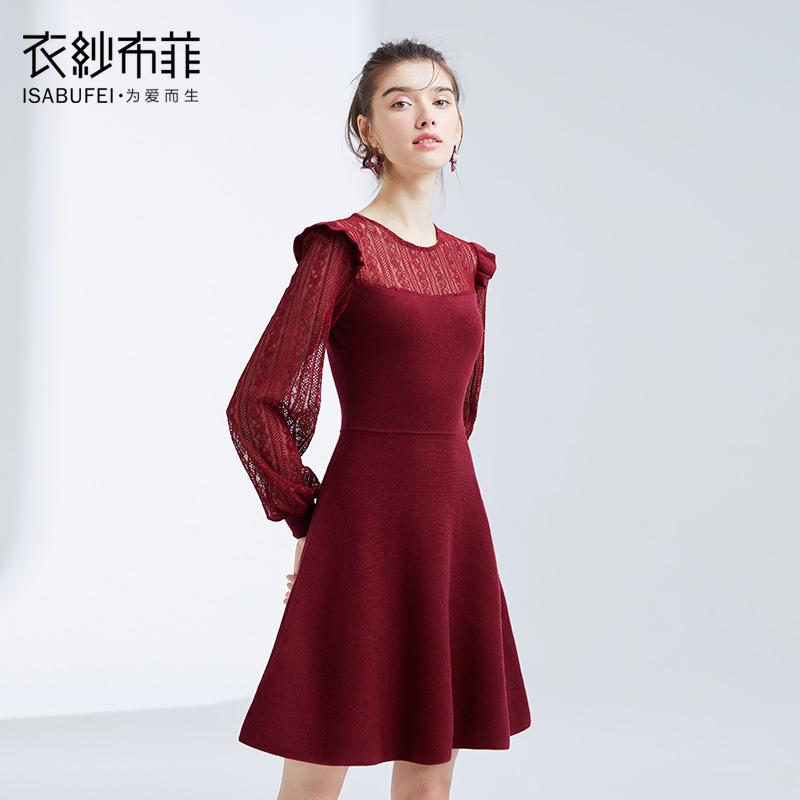 風鏤空連衣裙