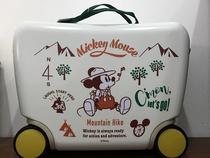惠氏赠品迪斯尼18寸儿童旅行骑行16英寸儿童拉杆箱行李箱拖拉箱