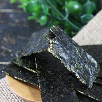 包邮紫菜零食100G原味辣味买三免一即食大片海苔网红零食