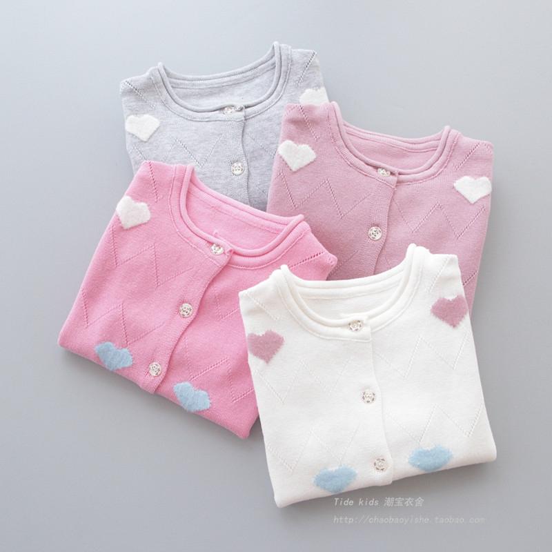 宝宝韩版线衫