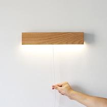 壁灯卧室床头简约现代创意过道客厅灯具北欧酒店旋转调光阅读壁灯