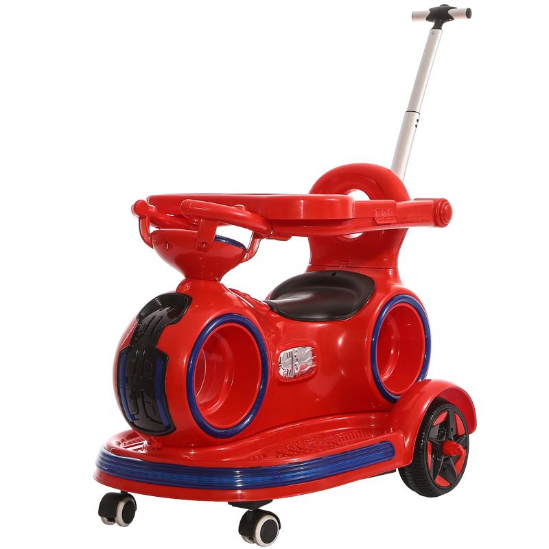 婴幼儿童电动车充电摇摆摩托车手推车可坐宝宝玩具遥控汽车1-3岁