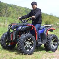 ATV size bull four-axle drive water-cooled double four-wheel drive off-road electric petrol motorcycle adult