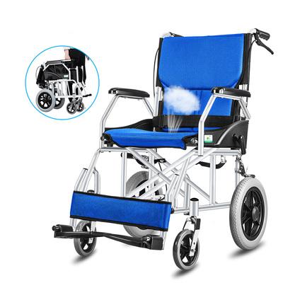 轮椅旅行残疾人手推代步车