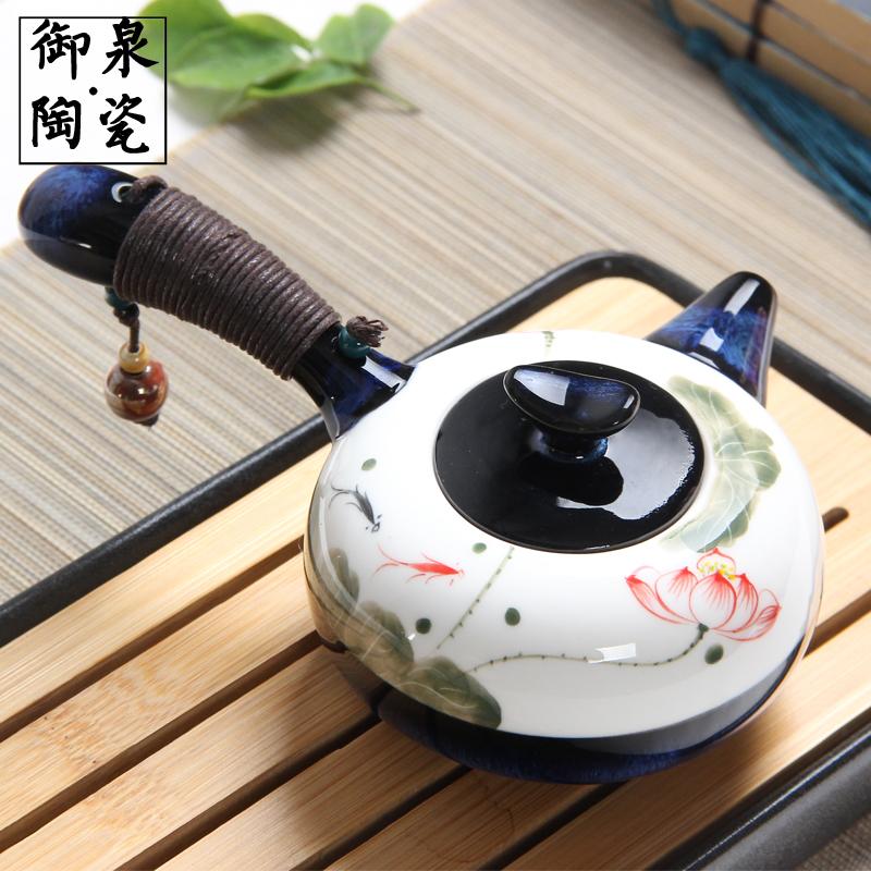 陶瓷茶壶单壶纯手工