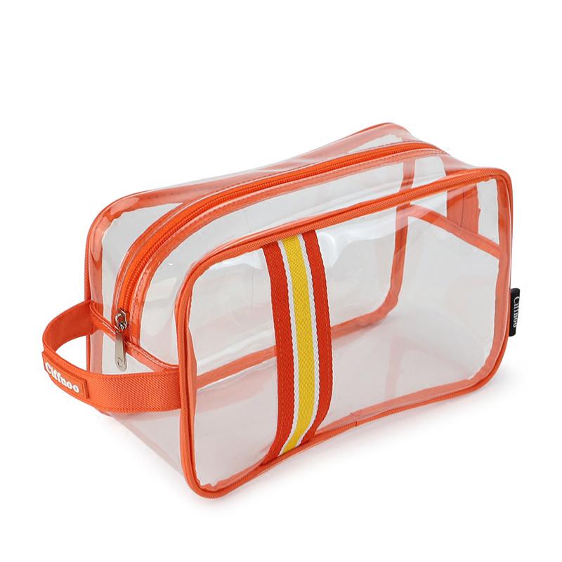 手提多功能大容量男女出差旅行便携式透明防水洗澡包沐浴洗漱浴袋