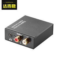 Stable and stable fiber coaxial audio converter digital to analog Hisense Sharp millet TV spdif turn 3.5 audio line audio decoder turn lotus output line 5.1 conversion line