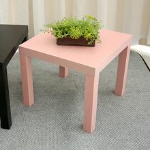 简约现代小茶几木制四方桌拉克边桌床头桌长55厘米小桌超市促销
