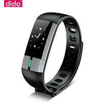Dido smart bracelet blood pressure heart rate male waterproof pedometer sports multifunction electrocardiogram monitoring elderly healthy running Bluetooth couple watches women apply vivo apple oppo mobile phone