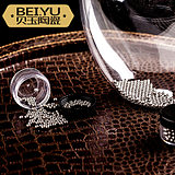 Beiyu decanter cleaning beads red wine glass cleaner 304 stainless steel beads cleaning brush glass cleaning tools