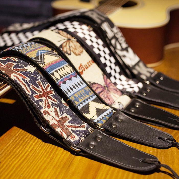 吉他帶個性