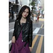 显瘦pu皮夹克短款 机车小外套 韩版 女士短款 2019秋冬季新款 皮衣修身图片
