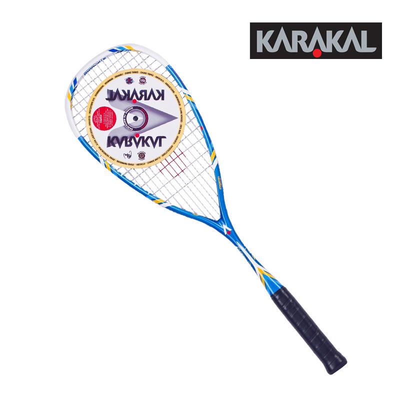 正品KARAKAL壁球拍全碳素超轻初学男女高档壁拍STING/SMASH送壁球