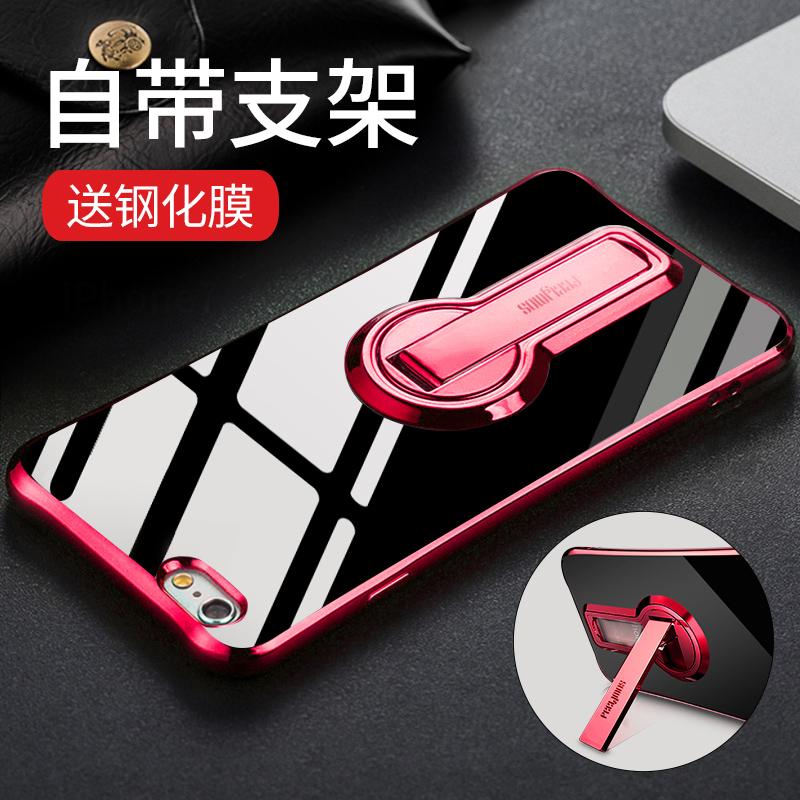 iphone6苹果6s手机壳6splus个性六软硅胶套支架潮女新款6plus透明