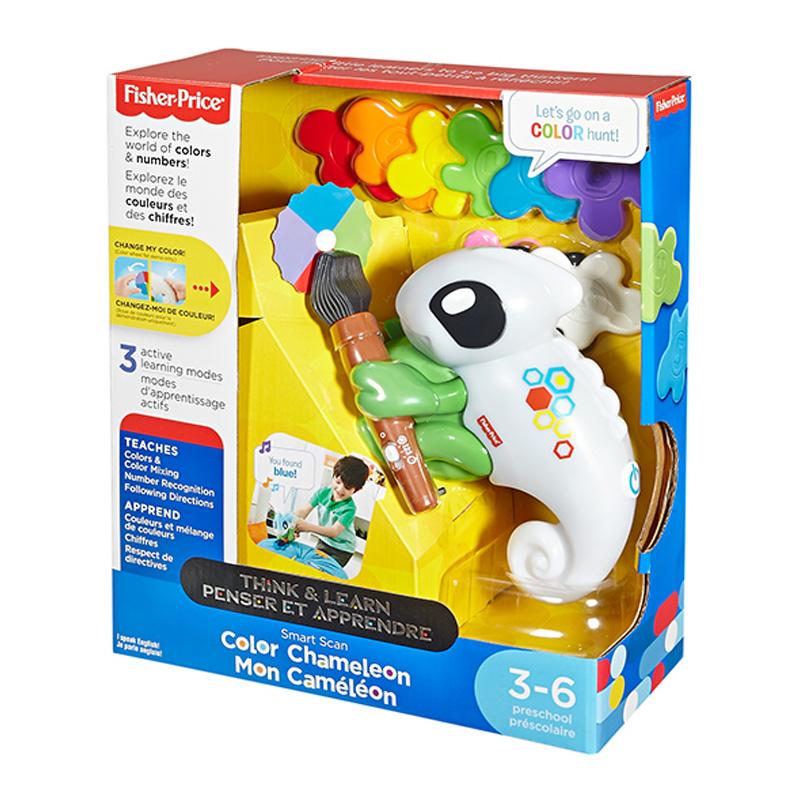 费雪探索变色龙 智能学习颜色 早教玩具FBW67