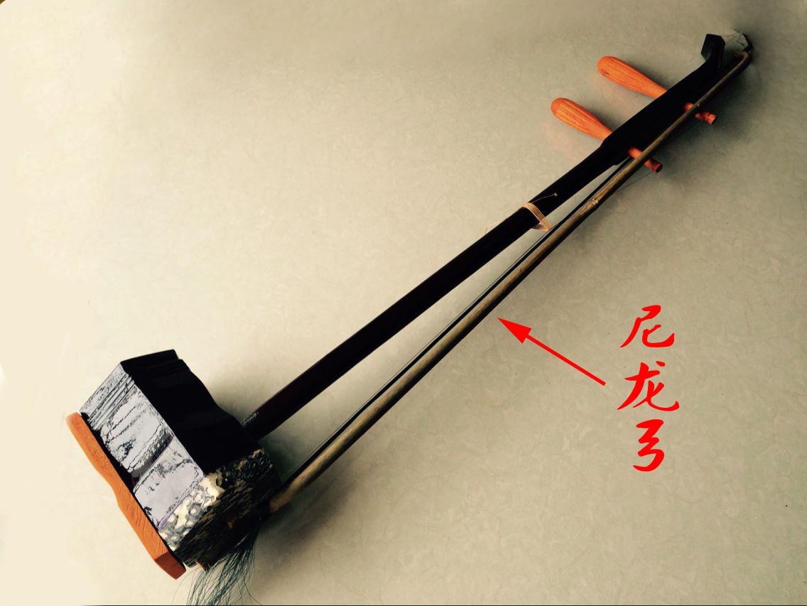 配马尾弓民族乐器送配件弦 包邮初学六角二胡乐器 送音标贴