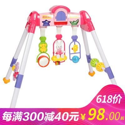 迪孚儿童健身器材新生儿用品宝宝音乐架婴儿健身架 婴儿玩具0-1岁