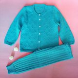New cotton cardigan for infants in autumn and winter