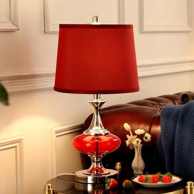 ❤美式台灯卧室床头婚庆新房结婚礼物现代简约时尚温馨欧式灯