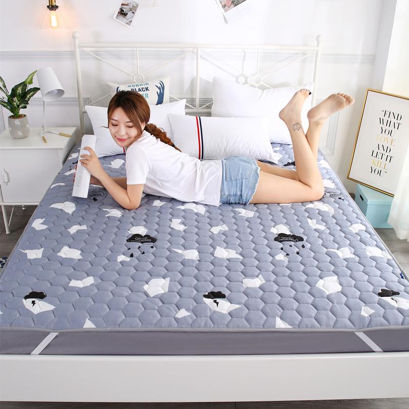 床垫子1.8m床双人垫被1.2米单人学生宿舍海绵榻榻米折叠1.5床褥子