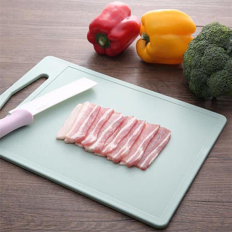 日式fasola加厚砧板切菜板案板塑料切水果板家用防霉厨房切菜板