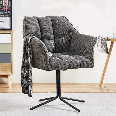 荷马北欧布艺转椅轻奢美式书桌书房电脑椅子舒适家用现代简约时尚