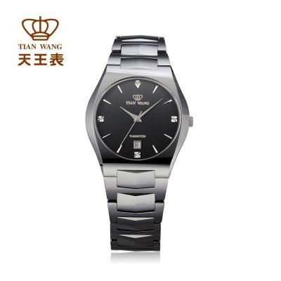 热卖 天王表 GT3504N/D时尚尊贵全钨钢石英防刮手表 全国联保旗舰店