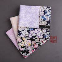 Sakura ladies handkerchief cotton sweat-absorbent handkerchief romantic cherry goddess festival gift elegant