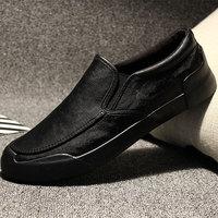 脚蹬英伦休闲鞋