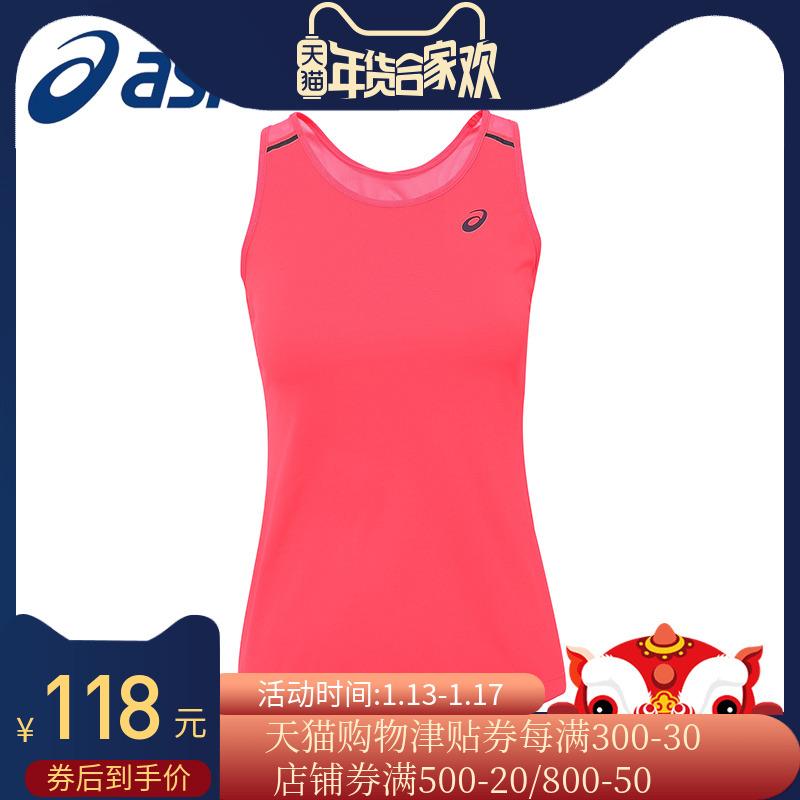 ASICS亚瑟士 女士跑步运动背心 无袖T恤140894