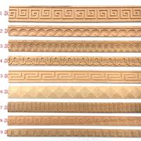 European-style decorative wood line hemming line edging line box line carved line solid wood line Yinjiao line