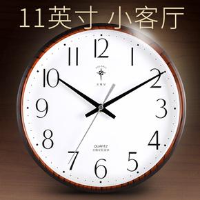 北极星钟表客厅挂钟现代简约静音创意卧室电子小个性石英时钟挂表
