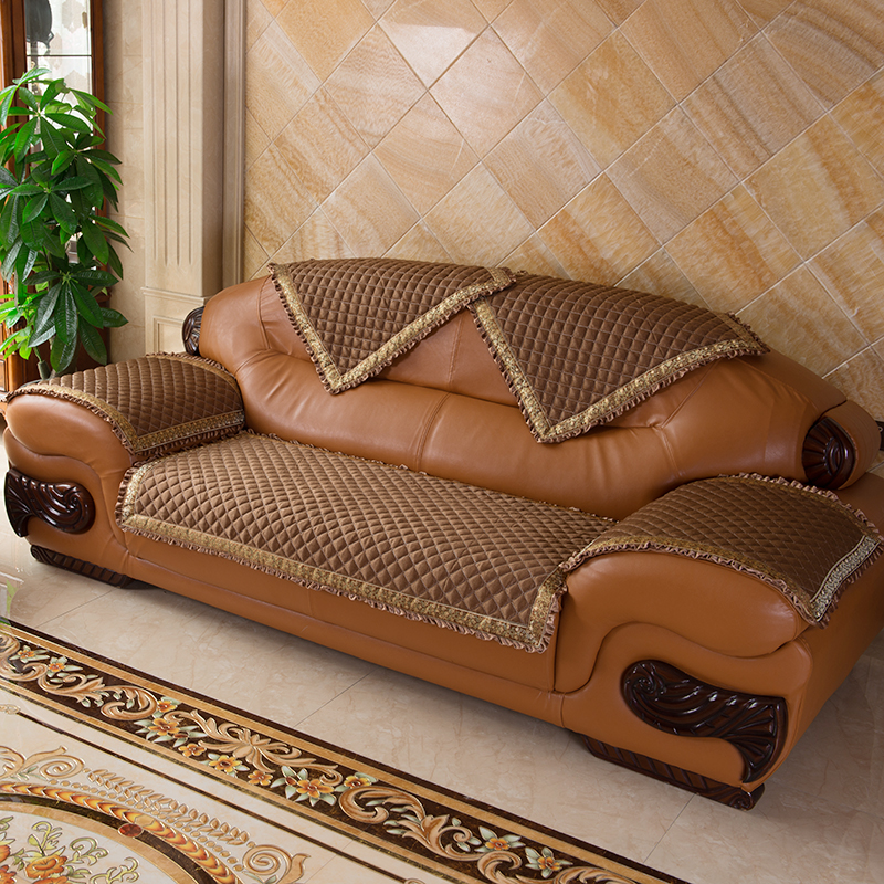 奢华真皮沙发垫