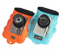 Large camera waterproof bag outdoor micro-camera built-in Lens waterproof case with clip travel outing