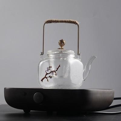 玻璃煮茶壶耐热过滤内胆烧水壶蒸茶器电陶炉加热小号普洱功夫茶具最新最全资讯