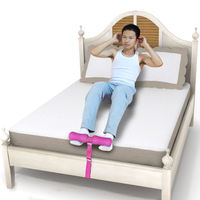 Simple sit-up female assistant dormitory bed home presser abdomen fitness equipment lazy student male