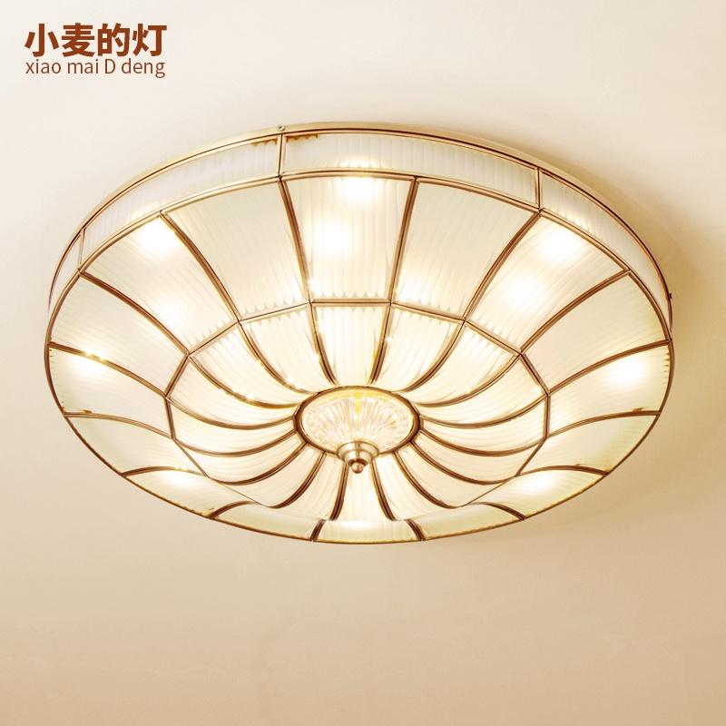 led玻璃客厅灯